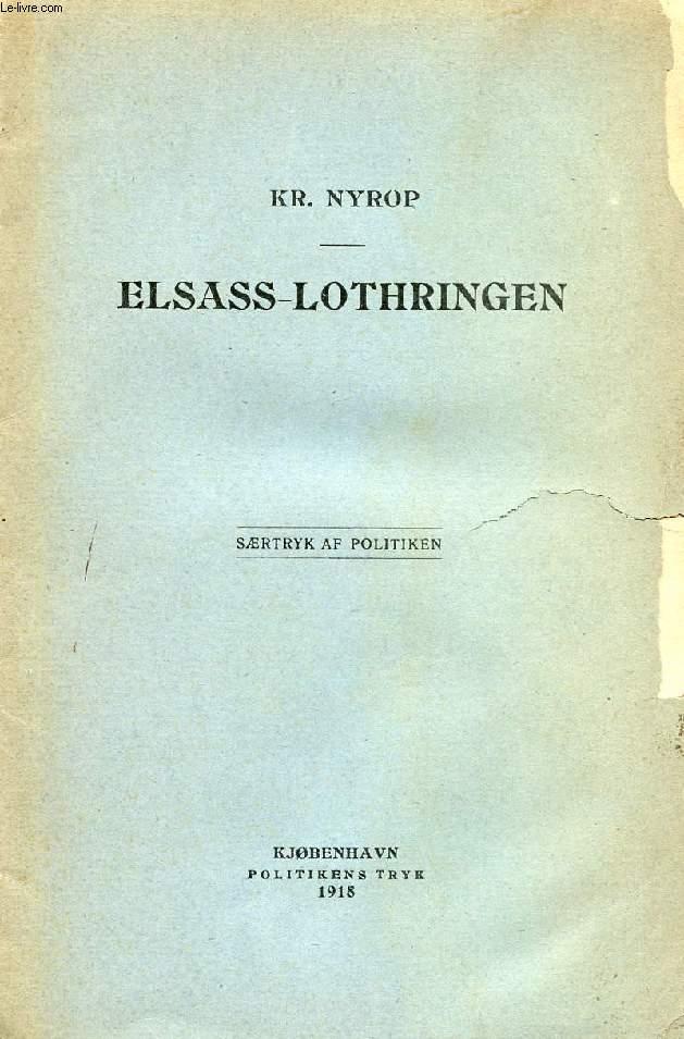 ELSASS-LOTHRINGEN