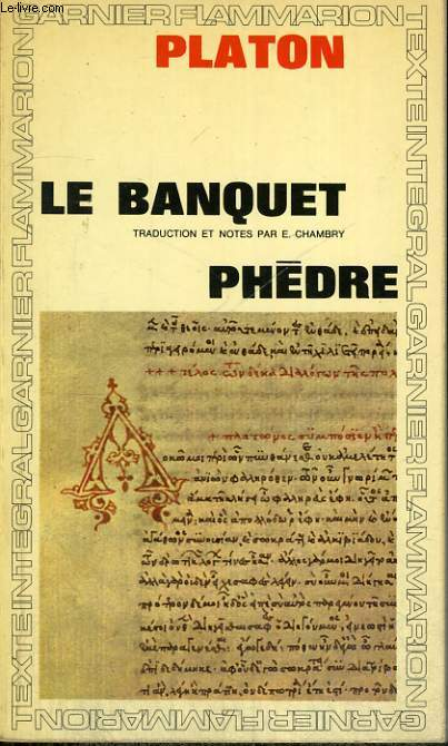 LE BANQUET, PHEDRE