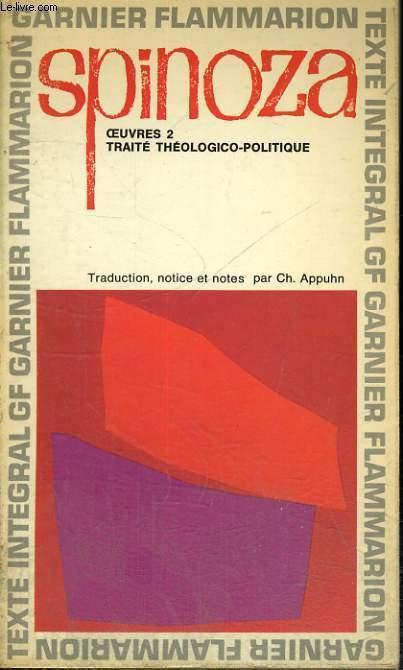 OEUVRE 2 - TRAITE THEOLOGICO-POLITIQUE