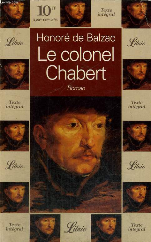 LE COLONEL CHABERT, ROMAN