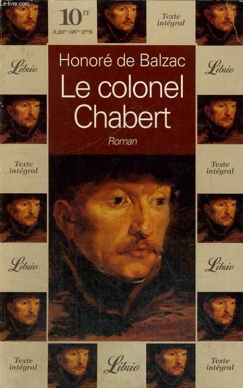 LE COLONEL CHABERT, ROMAN