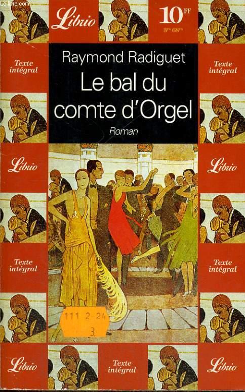 LE BAL DU COMTE D'ORGEL, ROMAN