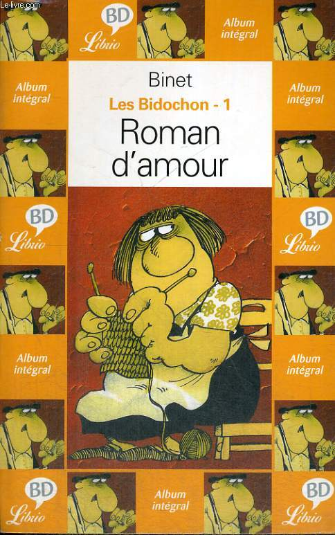 LES BIDOCHON 1 - ROMAN D'AMOUR