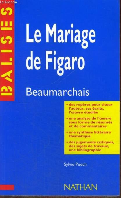 LE MARIAGE DE FIGARO. SYLVIE PUECH.