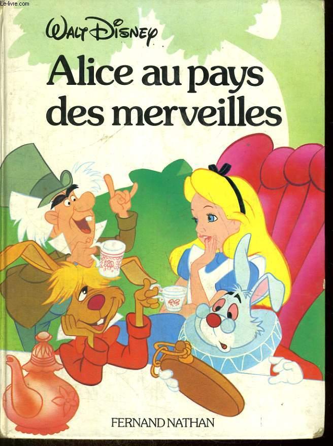 Alice Au Pays Des Merveilles Disney Classique