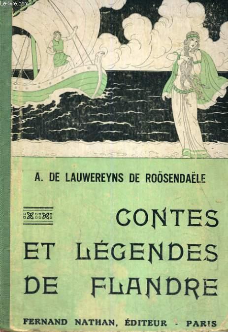 CONTES ET LEGENDES DE FLANDRES - COLLECTION DES CONTES ET LEGENDES DE TOUS LES PAYS