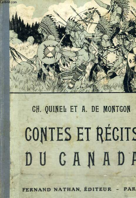 CONTES ET RECITS DU CANADA - COLLECTION DES CONTES ET LEGENDES DE TOUS LES PAYS