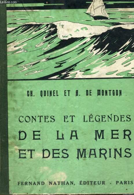 CONTES ET LEGENDES DE LA MER ET DES MARINS - COLLECTION DES CONTES ET LEGENDES DE TOUS LES PAYS