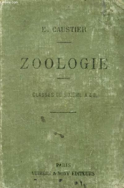 ZOOLOGIE A L'USAGE DES ELEVES DES CLASSES DE 6e A ET B
