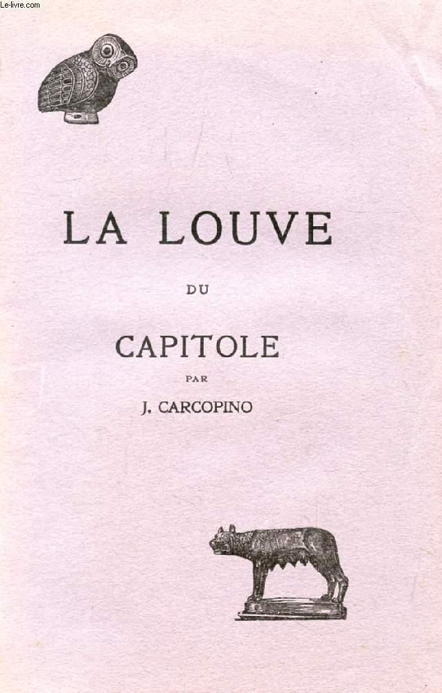 LA LOUVE DU CAPITOLE