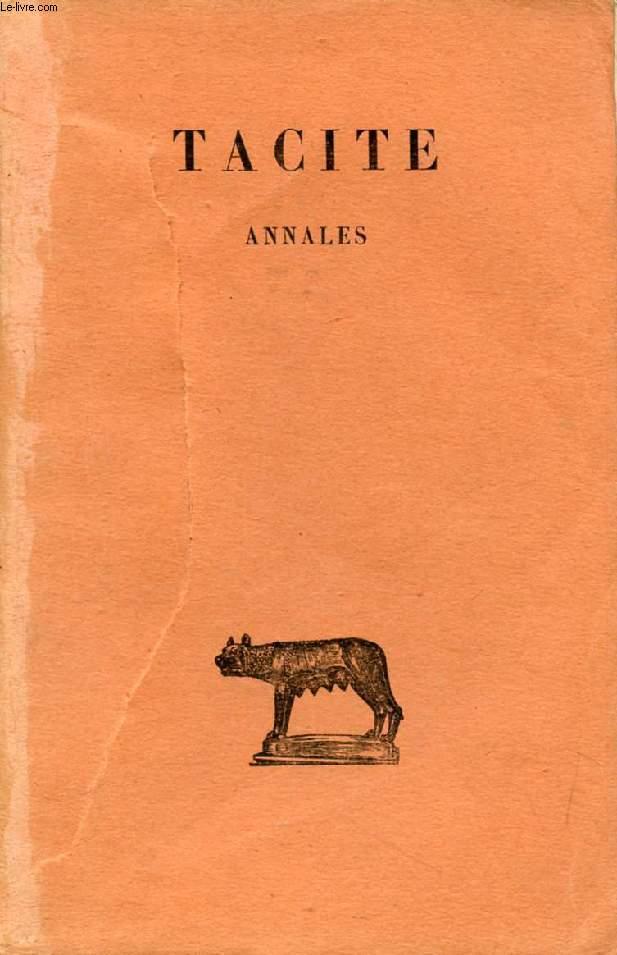 ANNALES, TOME I (LIVRES I-III)