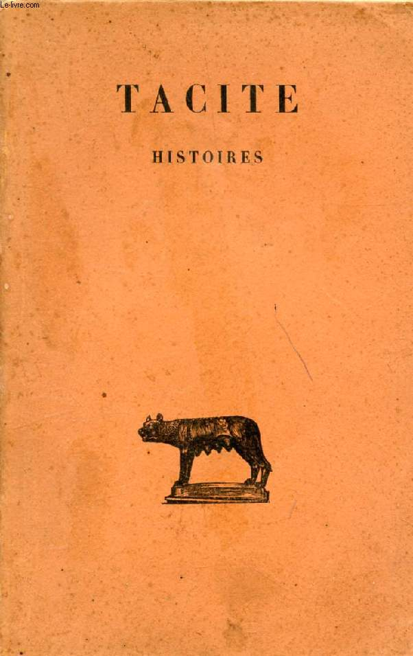 HISTOIRES, TOME I