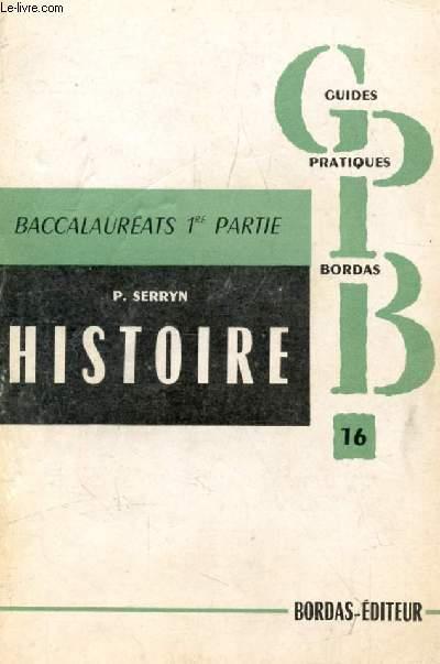 L'HISTOIRE A L'EXAMEN DE FIN DE 1re, 1848-1914