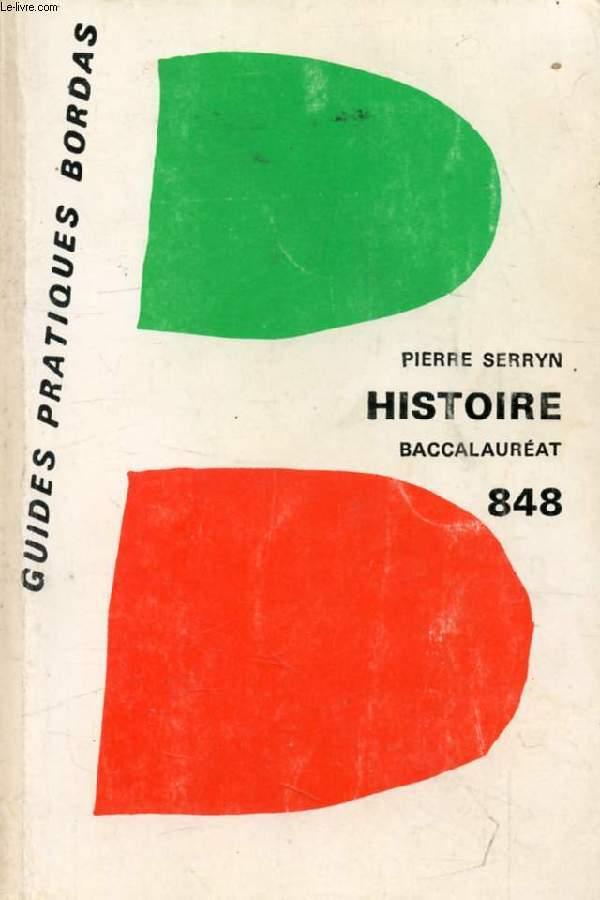 L'HISTOIRE AU BACCALAUREAT, HISTOIRE (1914-1945), CIVILISATIONS