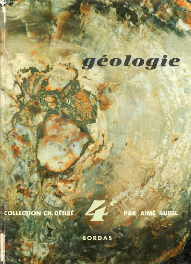 GEOLOGIE, CLASSE DE 4e