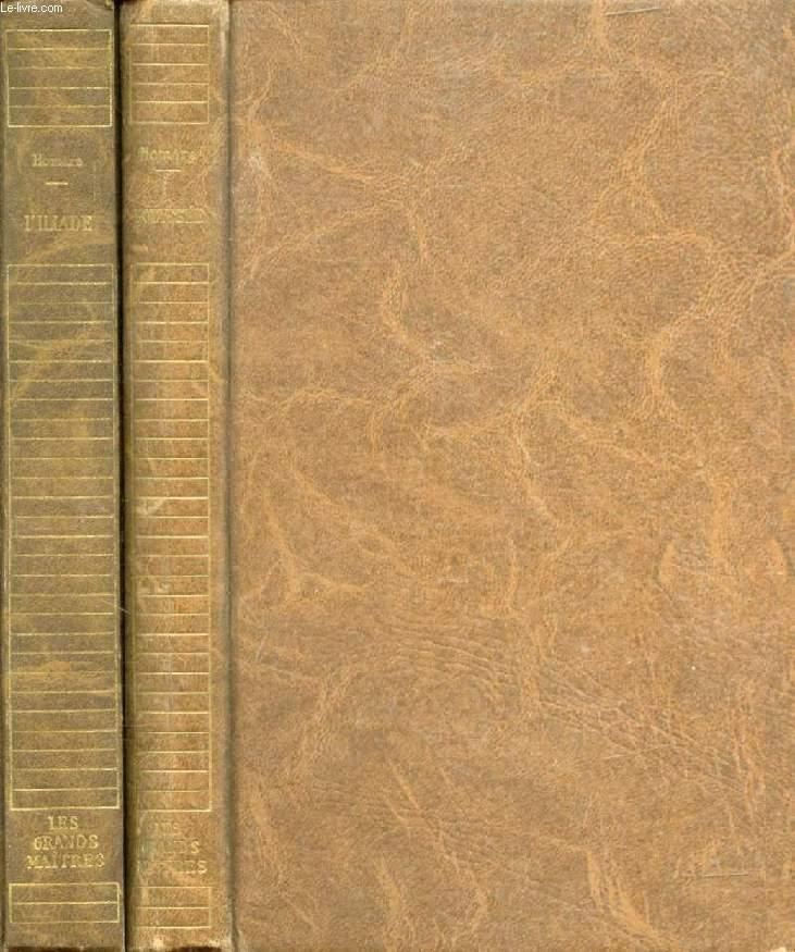 L'ILIADE / L'ODYSSEE, 2 VOLUMES (LES GRANDS MAITRES)