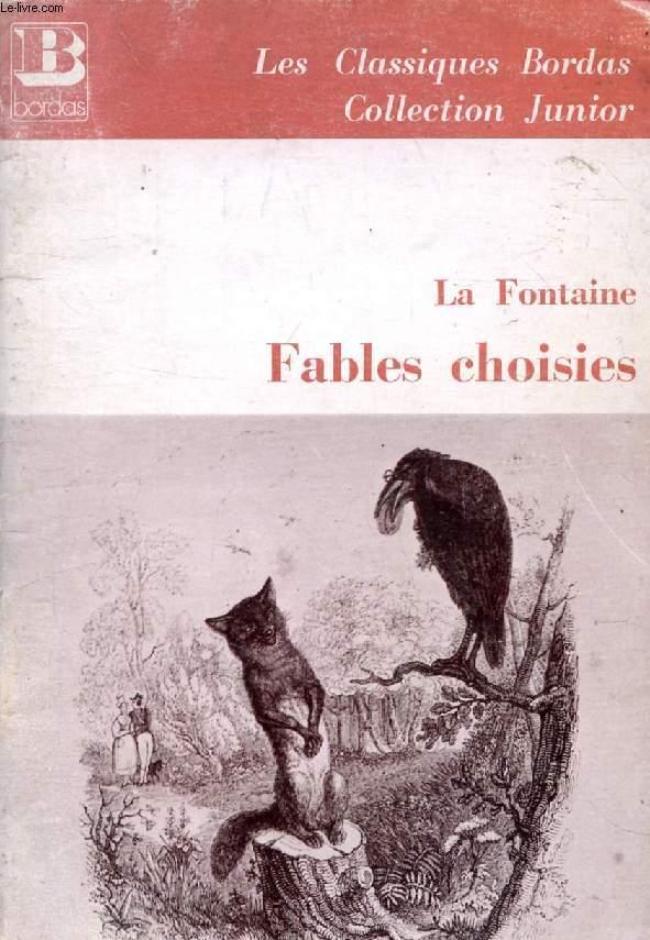 FABLES CHOISIES (LIVRES I-VI)