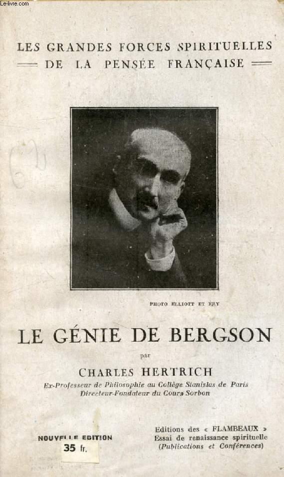 LE GENIE DE BERGSON