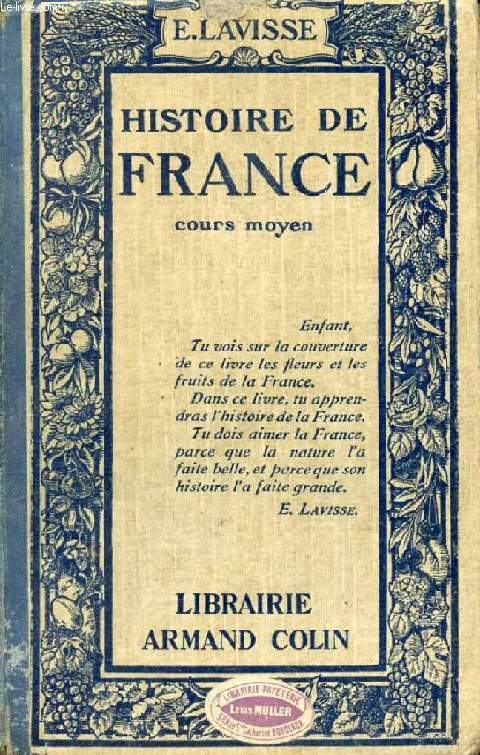 HISTOIRE DE FRANCE, COURS MOYEN