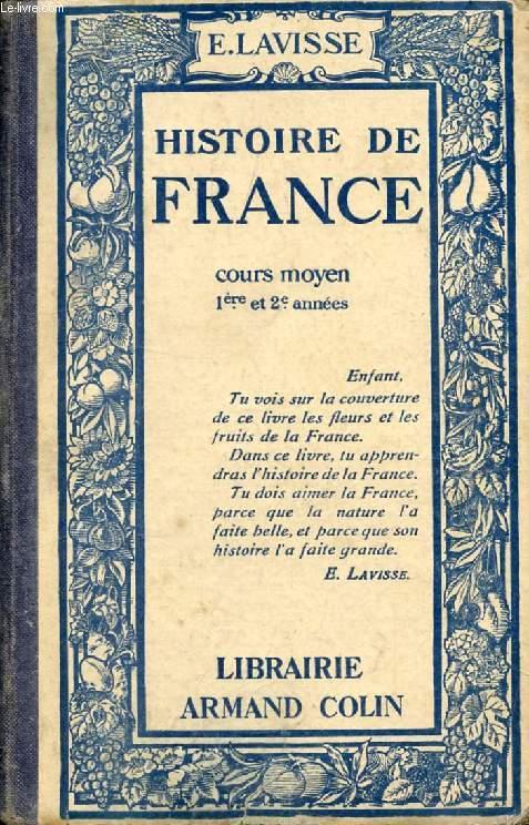 HISTOIRE DE FRANCE, COURS MOYEN 1re ET 2e ANNEES