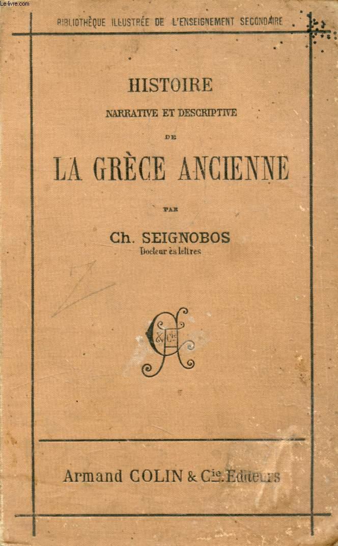 HISTOIRE NARRATIVE ET DESCRIPTIVE DE LA GRECE ANCIENNE