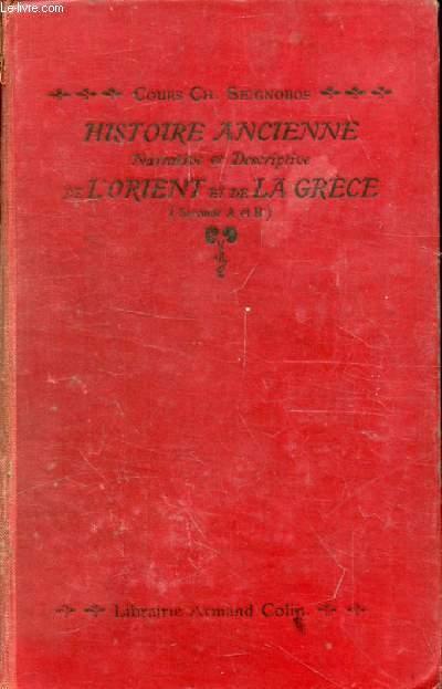 HISTOIRE ANCIENNE NARRATIVE ET DESCRIPTIVE DE L'ORIENT ET DE LA GRECE, 2de A, B