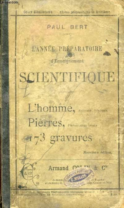 L'ANNEE PREPARATOIRE D'ENSEIGNEMENT SCIENTIFIQUE (SCIENCES NATURELLES ET PHYSIQUES)