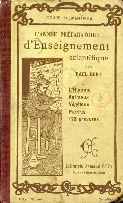 L'ANNEE PREPARATOIRE D'ENSEIGNEMENT SCIENTIFIQUE