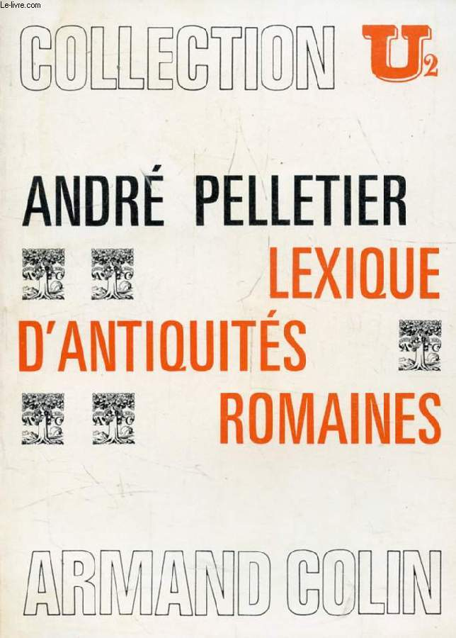 LEXIQUE D'ANTIQUITES ROMAINES