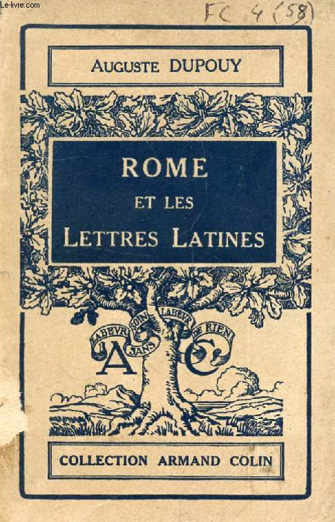 ROME ET LES LETTRES LATINES