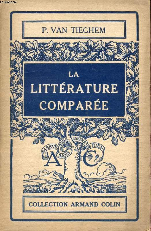 LA LITTERATURE COMPAREE