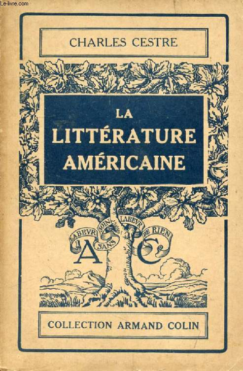 LA LITTERATURE AMERICAINE