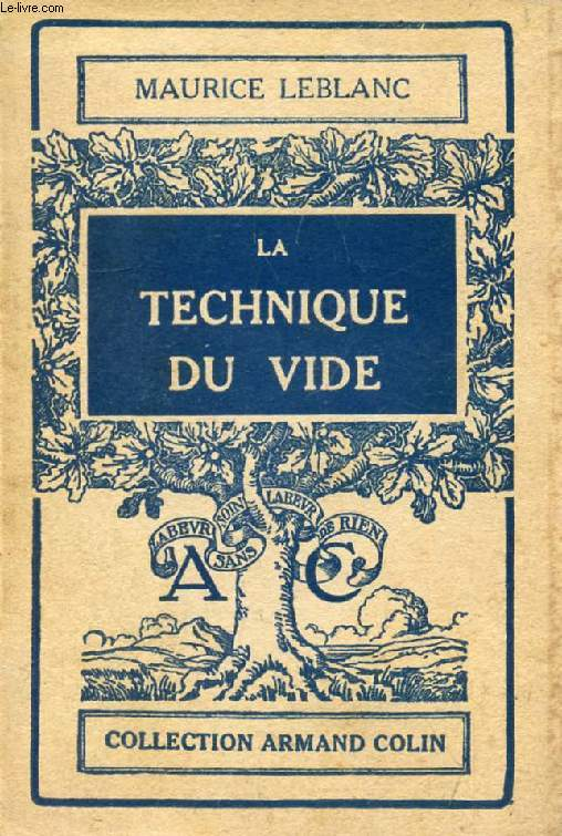LA TECHNIQUE DU VIDE