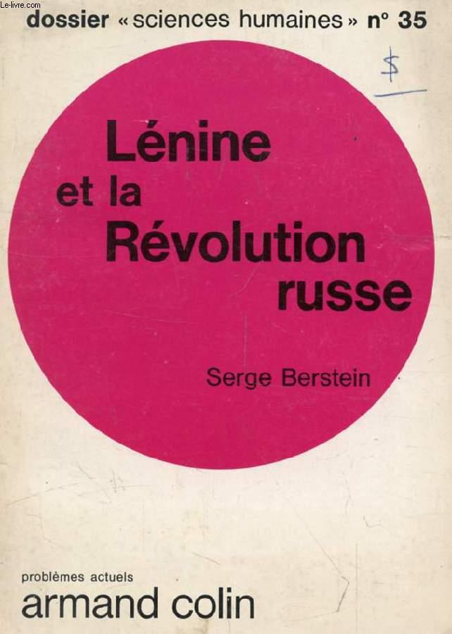 LENINE ET LA REVOLUTION RUSSE