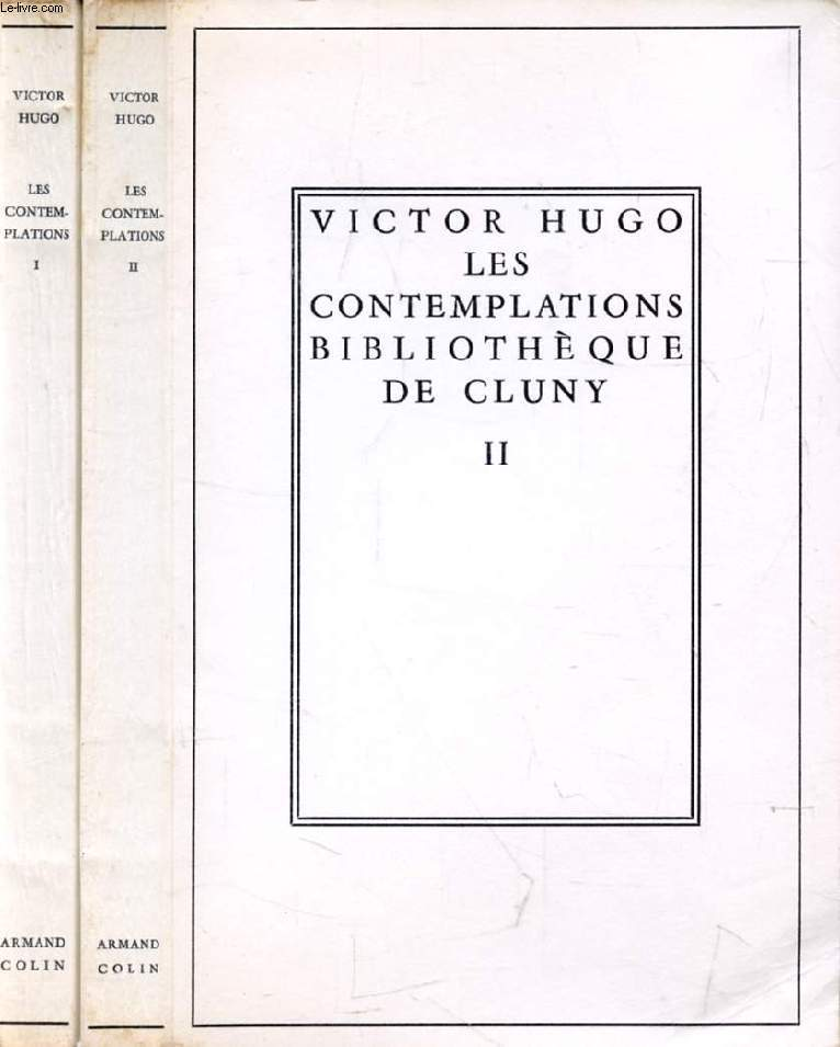 LES CONTEMPLATIONS, 2 TOMES