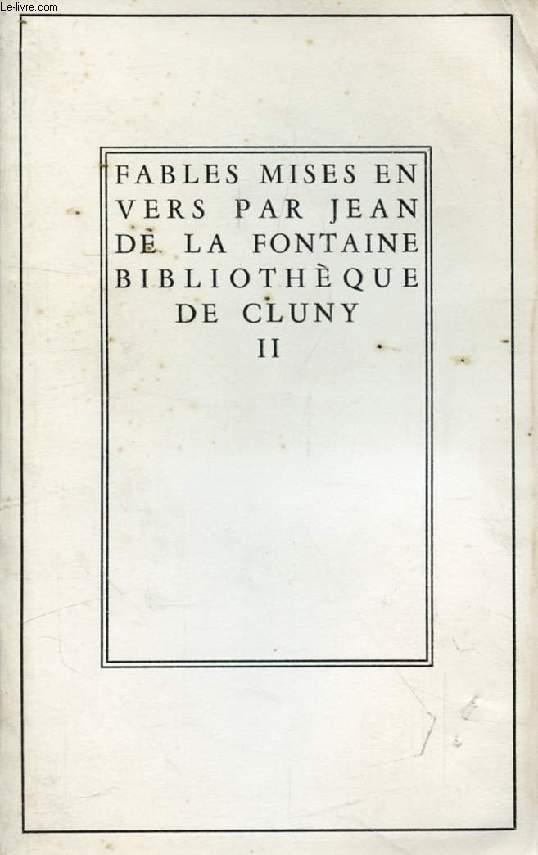 FABLES MISES EN VERS PAR JEAN DE LA FONTAINE, TOME II