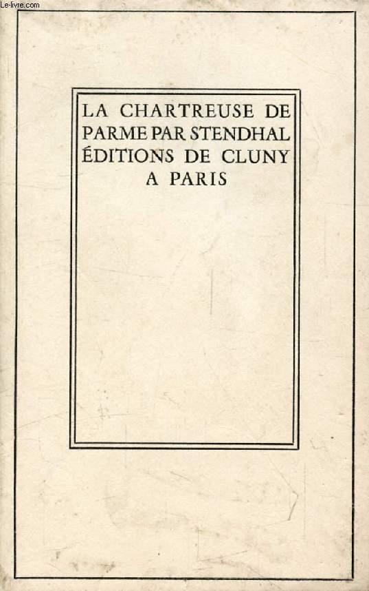 LA CHARTREUSE DE PARME, TOME II