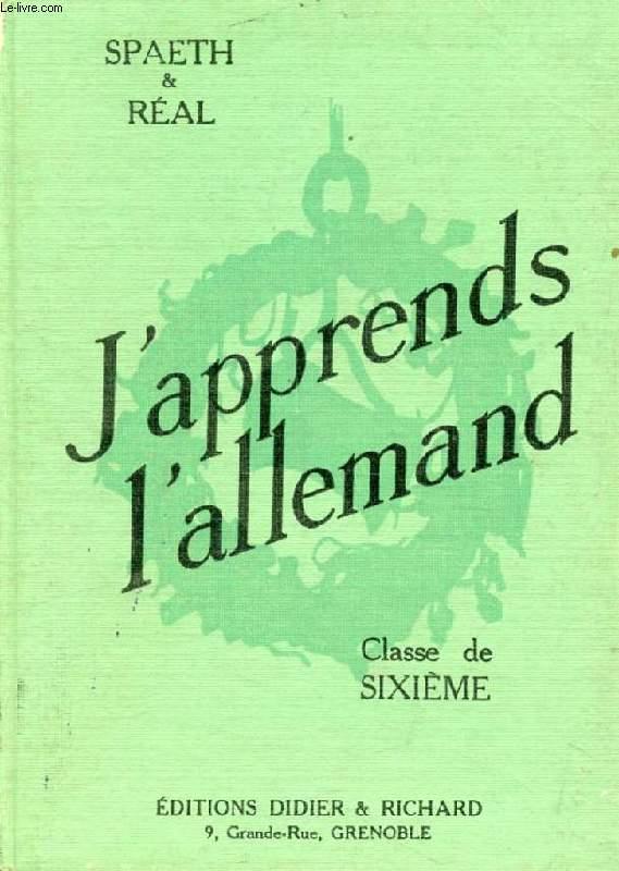 J'APPRENDS L'ALLEMAND, CLASSE DE 6e