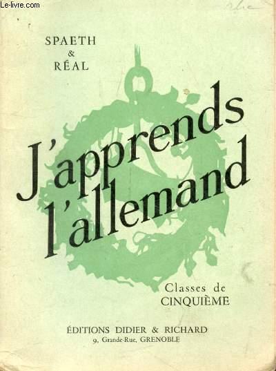 J'APPRENDS L'ALLEMAND, CLASSE DE 5e