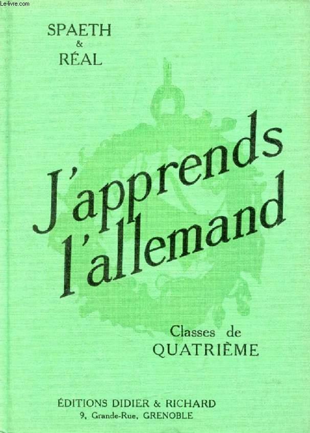 J'APPRENDS L'ALLEMAND, CLASSES DE 4e