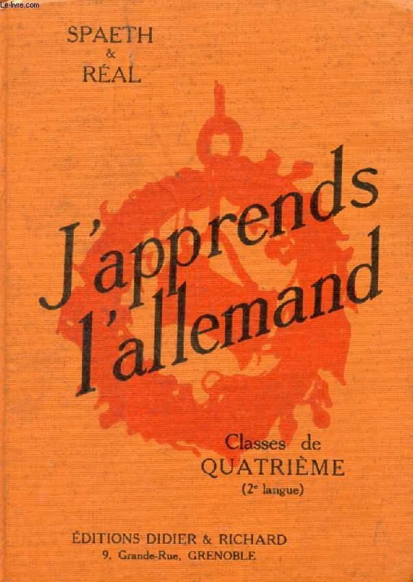 J'APPRENDS L'ALLEMAND, CLASSES DE 4e (2e LANGUE), GRANDS COMMENCANTS