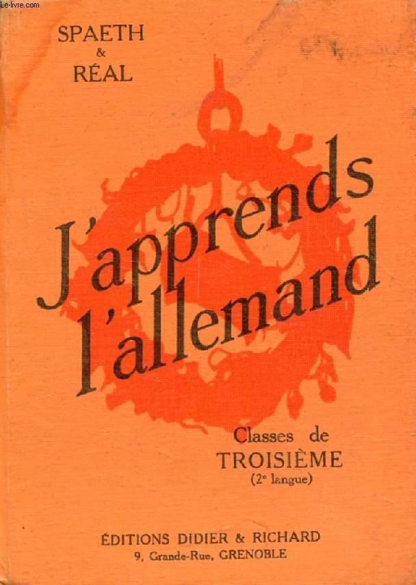 J'APPRENDS L'ALLEMAND, CLASSES DE 3e (2e LANGUE), GRANDS COMMENCANTS