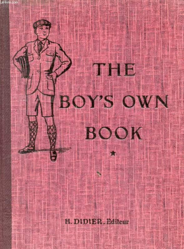 THE BOY'S OWN BOOK, CLASSES DE 1re ANNEE