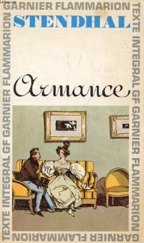 ARMANCE, OU QUELQUES SCENES D'UN SALON DE PARIS EN 1827