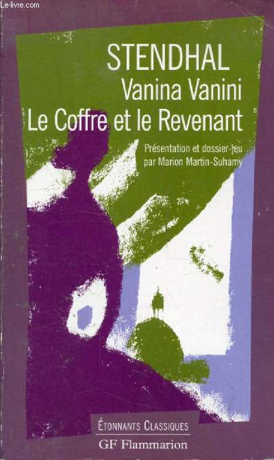 VANINA VANINI, LE COFFRE ET LE REVENANT