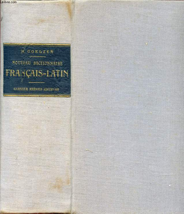 NOUVEAU DICTIONNAIRE FRANCAIS-LATIN