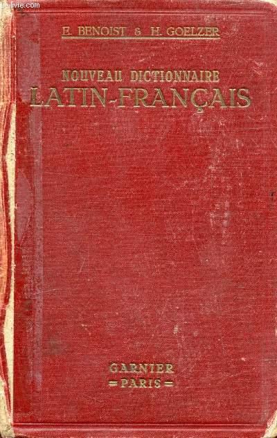 NOUVEAU DICTIONNAIRE LATIN-FRANCAIS, REDIGE D'APRES LES MEILLEURS TRAVAUX DE LEXICOGRAPHIE LATINE