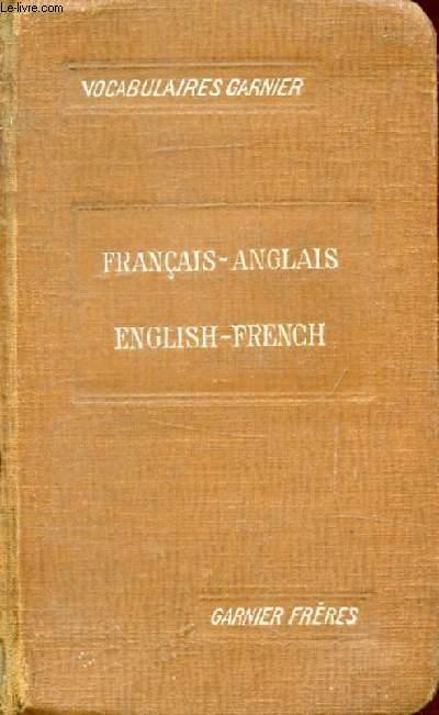 NOUVEAU VOCABULAIRE FRANCAIS-ANGLAIS, ANGLAIS-FRANCAIS