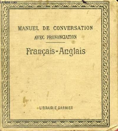 MANUEL DE LA CONVERSATION ET DU STYLE EPISTOLAIRE FRANCAIS-ANGLAIS