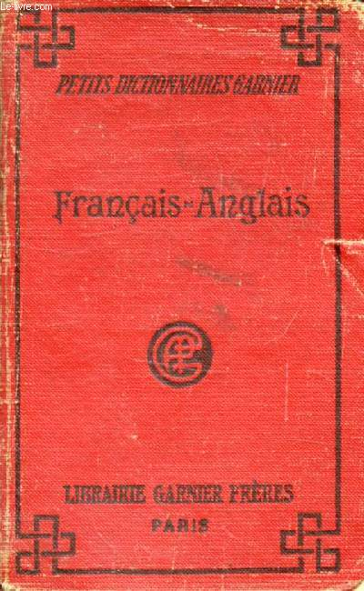 PETIT DICTIONNAIRE FRANCAIS-ANGLAIS
